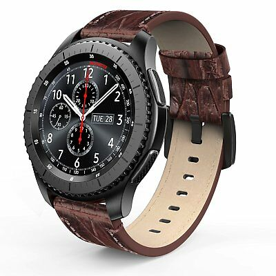 Samsung Gear S3 Frontier / Classic Leather Bands Premium Replacement Strap