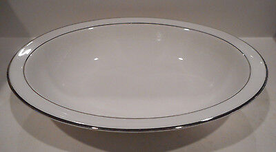 "Royal Doulton 10 1/2"" Oval Vegetable Bowl Amulet Pattern H4998 Made England"