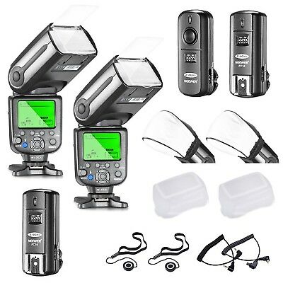 NW565EX E TTL LCD Display Slave Flash Speedlite Kit Black White