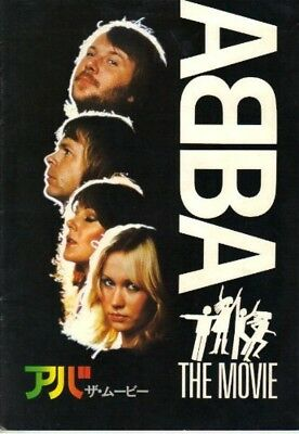 ABBA THE MOVIE JAPAN MOVIE PROGRAM BOOK 1978 From Japan