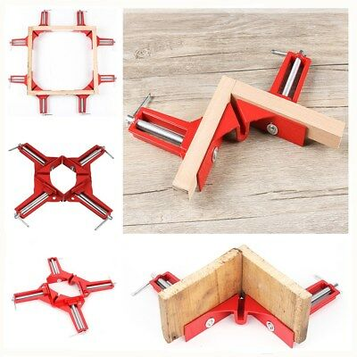 UK 5x 90 Degree Right Angle Clip Picture Frame Corner Clamp Woodwork Hand Tools