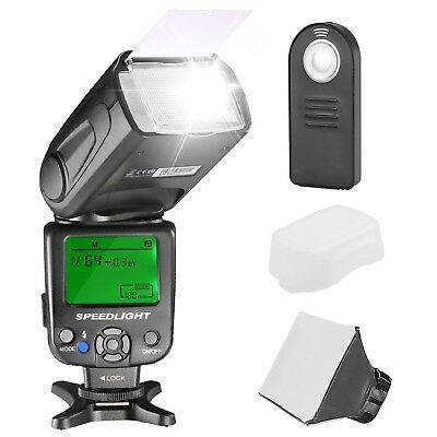 NW620 Manual Flash Speedlite Kit for Canon Nikon Sony Pentax Digital SLR Cameras