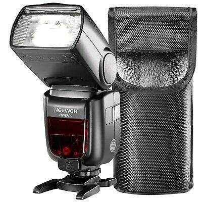 2.4 Gram Wireless 1 / 8000 HSS TTL LCD Display Master Slave Flash Speedlite