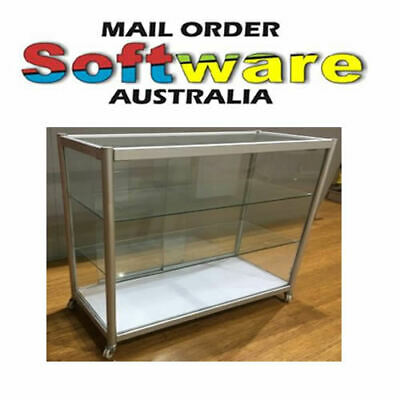 Glass Display Cabinets for shop 980x450x1000 Good For Model cars, jewellery New