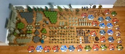 Heroscape Huge Lot 400+ Pieces Figures Dice Cards Star Wars Dragons Hexes Tiles