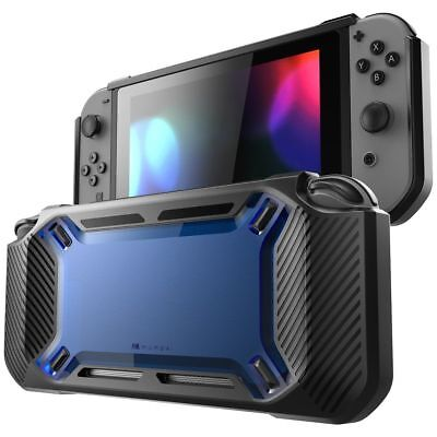 TPU Hybrid Case for Nintendo Switch Rugged Rubberized Snap on Hard Cover