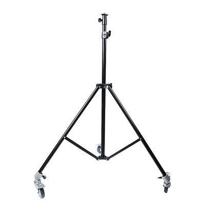 """79"""" Adjustable Light Stand Tripod with Caster Wheels for Photography Photo Video"""