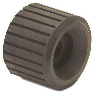 Boat Trailer Parts - Ribbed Side Chock Dumbell Roller - 32mm Bore