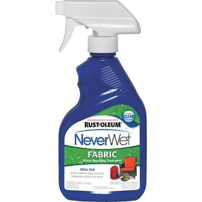 Rust Oleum Never Wet Water Repel Fabric Treatment 11oz 278146