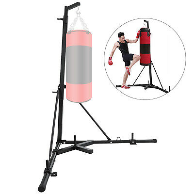 FOLDABLE BOXING BAG STAND | PORTABLE FREE STANDING | PUNCHING PUNCH 60KG Newest