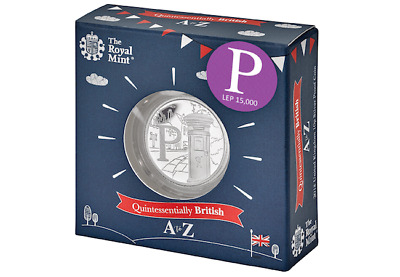 Postbox 10p Silver Proof Coin By The Royal Mint 2018 NEW boxed Post Office P