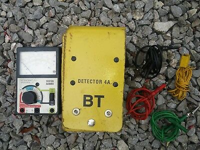 BT Detector 4A Meter Tester SA9083 TDR Telecoms Phone Line Engineer with Probes