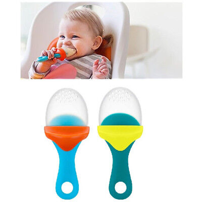 Boom Pulp Baby Feeder & Teether Child Weaning Fruit Veg Food Dispenser BPA FREE