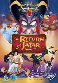 Aladdin The Return Of Jafar - Disney - New / Sealed Dvd - Uk Stock