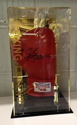 Carl Frampton The Jackal Hand Signed Boxing Glove In a Display Case RARE COA