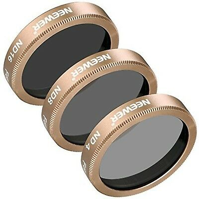 3 Pieces Neutral Density ND Filter Kit for Autel X-Star, X-Star Premium Drones