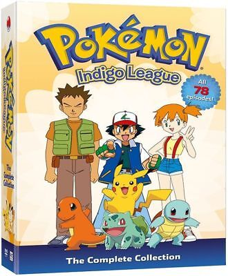 Pokemon: Indigo League - Season 1 Complete Collection (DVD, 2014, 9-Discs) NEW!