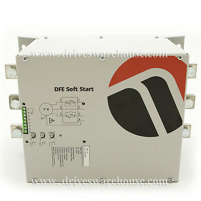 250 HP, 200kW, 350 Amps, 480V AC, Int-Bypassed Softstarter, Trip Class 5, DFE-34