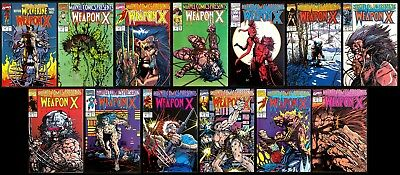 MARVEL COMICS PRESENTS 72-84 complete Set.  Weapon X. Wolverine Origin Story.
