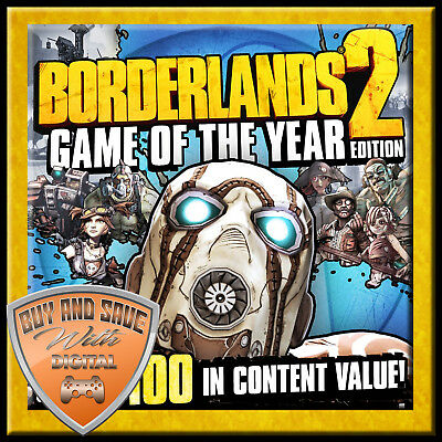 Borderlands 2 Game of the Year Edition (PC/MAC) STEAM KEY GLOBAL