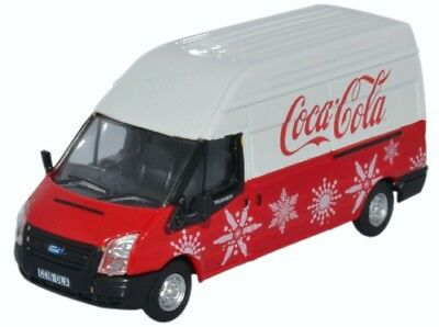 Scala 1//76 Oxford 76FT030CC Ford Transit LWB Coca Cola Nuovo