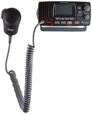 Cobra MRF57B Fixed Mount VHF Radio Hailer Rewind All Noaa Weather Channels