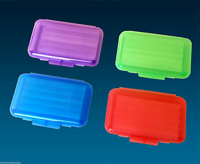 40 x Orthodontic Wax ~ 40 Colour Boxes Unscented 5 Strips for Braces Relief
