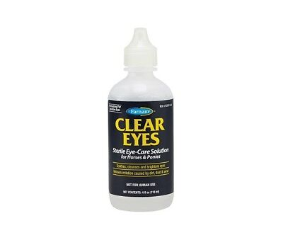 Clear Eyes Sterile Eye Care Solution Horses & Ponies 4oz