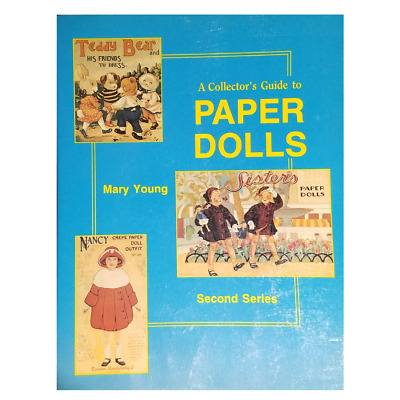 Paper Dolls Collector's Guide Second Series Mary Young 1984 Hobby Book Prices