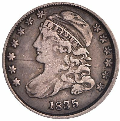 1835 Capped Bust Dime *5276