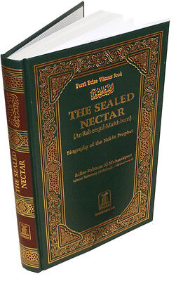 The Sealed Nectar [ar-Raheeq al-Makhtoum] biography of Muhammad islam quran book