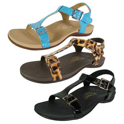 f6bf5a3fac41 VIONIC WITH ORTHAHEEL Womens Adriane T Strap Sandal Shoes -  49.99 ...