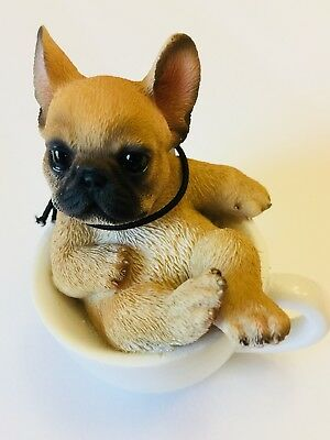French Bulldog In Coffee Cup