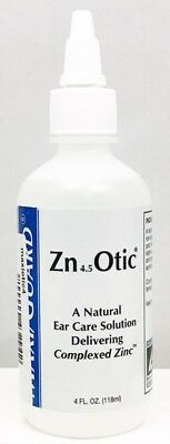 Natural Maxi Guard Zn 4.5 Otic Ear Care Solution Dogs & Cats 2oz Made in the USA