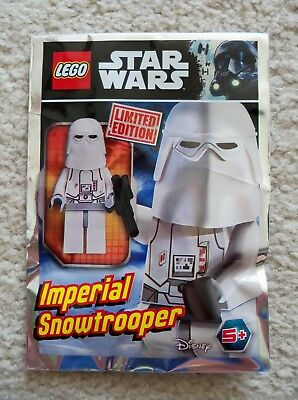 LEGO - Star Wars - Rare - Imperial Snowtrooper Minifig Foil Pack 911726 - New
