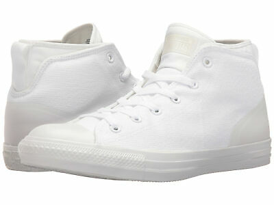 b650c4ff1d4 Converse Unisex Chuck Taylor All Star Syde Street Mid White Sneaker Shoes