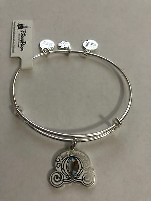 Disney Cinderella Coach Just Married Alex and Ani Silver Finish New with Tags