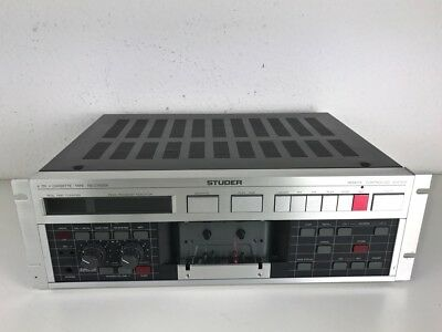 "Studer A721 Kassettendeck / Tape Deck ""SERVICED"""