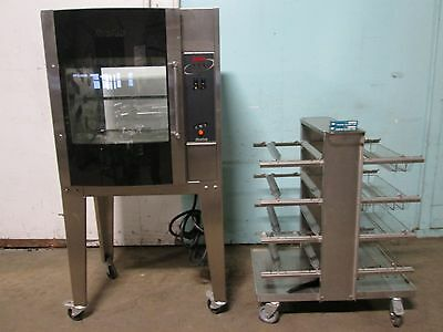 """resfab Lm-24A"" Hd Commercial (3Ph) Electric Digital Chicken/rib Rotisserie Oven"