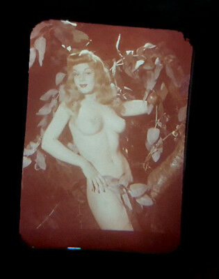 Vtg 50's 3D Stereo Viewer Stereoviewer Slides w/ Display Box Risque Nude Ladies