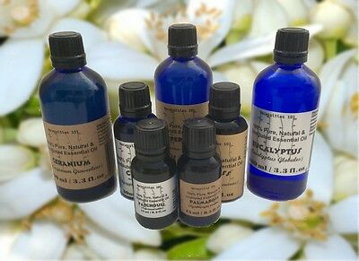 15 ml Essential Oils Undiluted 100% Pure & Natural .Free shipp! Buy 3 get 1 free