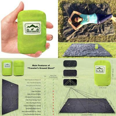 """""""Pocket Blanket"""" (Traveler'S Ground Sheet) For Hiking, Camping, Beach And Pi"""
