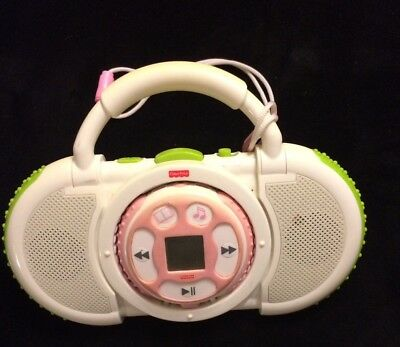 Fisher Price Kid Tough FP3/MP3 Song & Story Player with Speakers