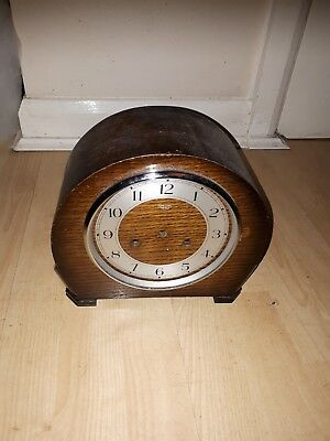 Smiths Enfield vintage clock case