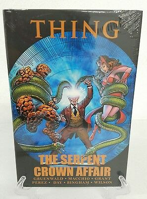 The Thing: The Serpent Crown Affair Marvel Comics Brand New Sealed HC Hard Cover