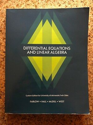 Students solutions manual for differential equations and linear differential equations and linear algebra custom edition by jerry farlow and fandeluxe Image collections