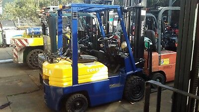 Toyota Forklift 5Fg15 4.5M Lift For Sale $7999+Gst Syd Stock