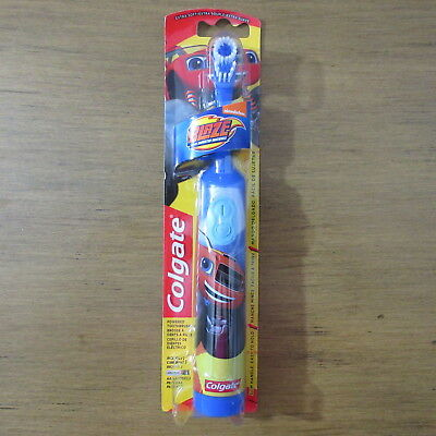 Colgate Kids Powered Toothbrush Blaze and the Monster Machines Extra Soft Blue