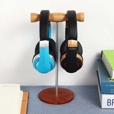 Earphone Headphone Headset Hanger Holder Wall PC Monitor Stand Hook Sticky New