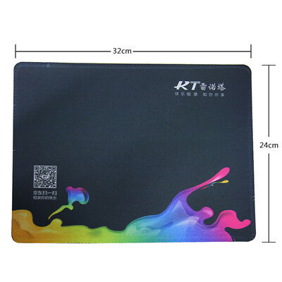 RT Extended Gaming Mouse Pad 320x240mm Big Size Desk Mat Black RT Customiz New